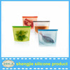 Shengjie China Supplier wholesale Seal Reusable food storage carrier bag heat resistant kitchen silicon bag