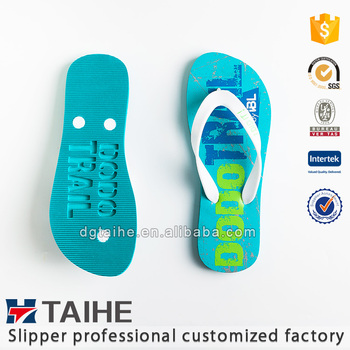 dbae6017a5ffdb Hot Sell Hollowed-out Custom Printed Eva Flip Flops For Men Slippers ...