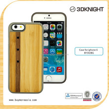 Luxury Crystal Natural Bamboo Wooden Wood Protective Back Case for iPhone 6/6+/6 plus/6s