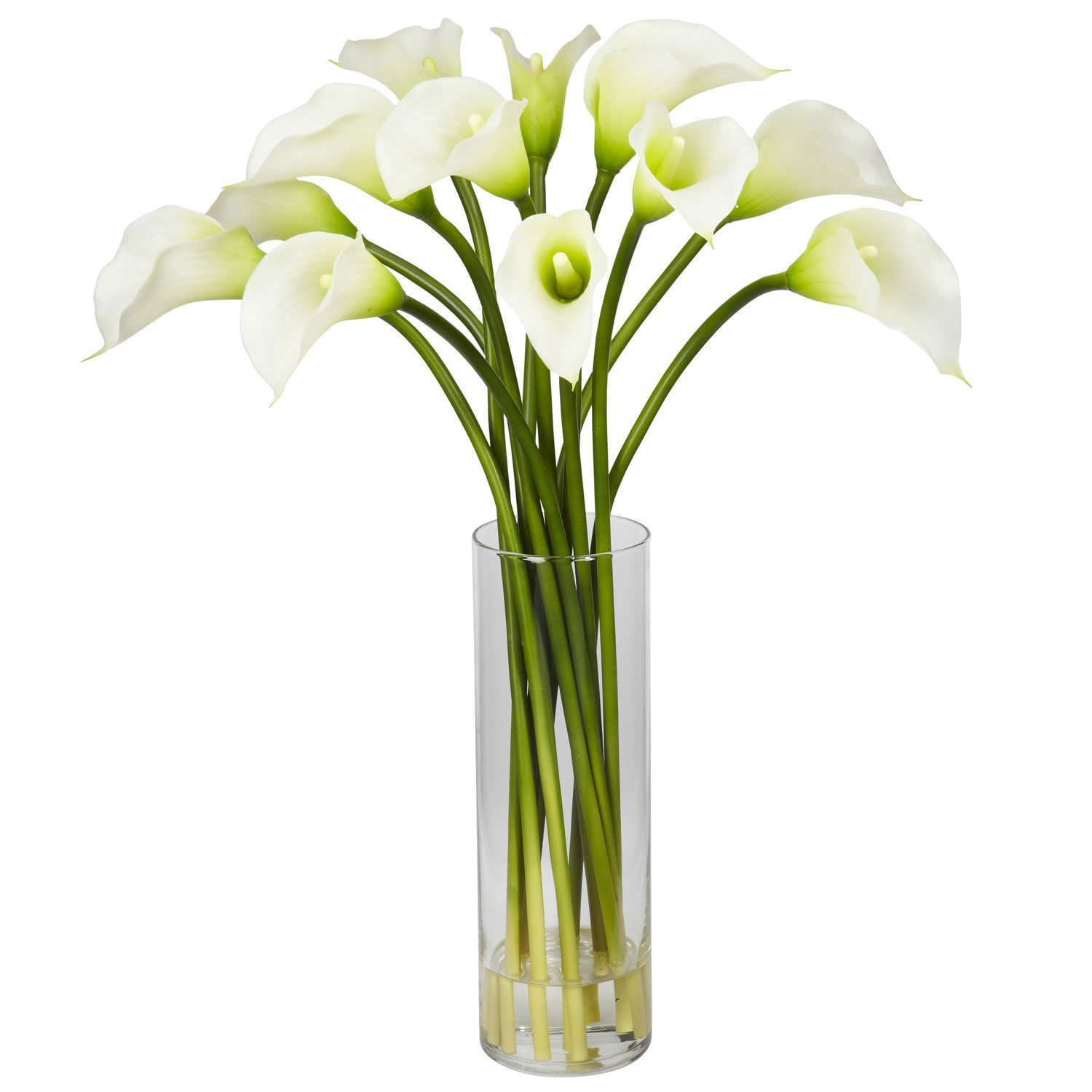 Cheap calla lily flower arrangement find calla lily flower get quotations mini calla lily silk flower arrangement izmirmasajfo