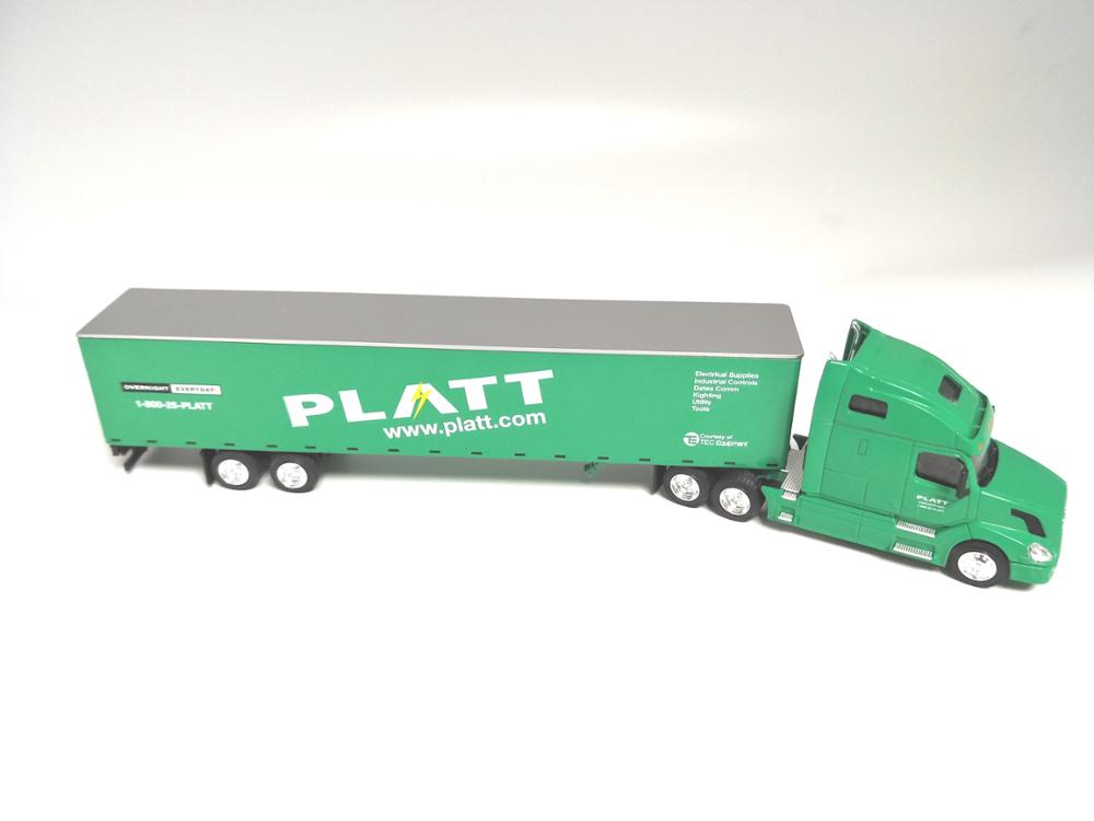 Volvo truck model promotional gift 1:64 scale