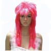 MCW-0310 Party Masquerade synthetic long women Hot straight pink wig