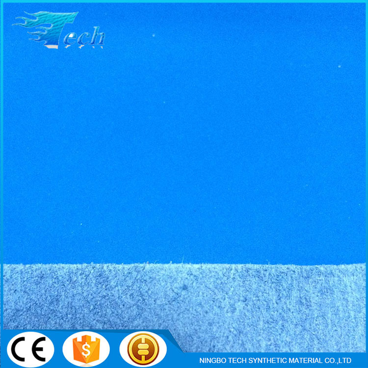 Pu leather raw material for shoes and bags child shoe material microfiber synthetic leather