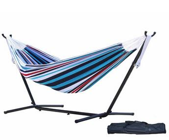 cheap price Outdoor Large Double Swing Bed Hammock With Metal Stand