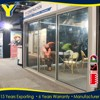 Low-e High Energy Rating Tempered Glass Aluminum sliding door mosquito netting for Commercial Use