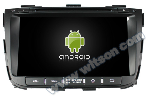 WITSON Android 4.4 FOR KIA SORENTO CAR DVD 2013 8GB Inand CAPACTIVE Screen WiFi 3G GPS