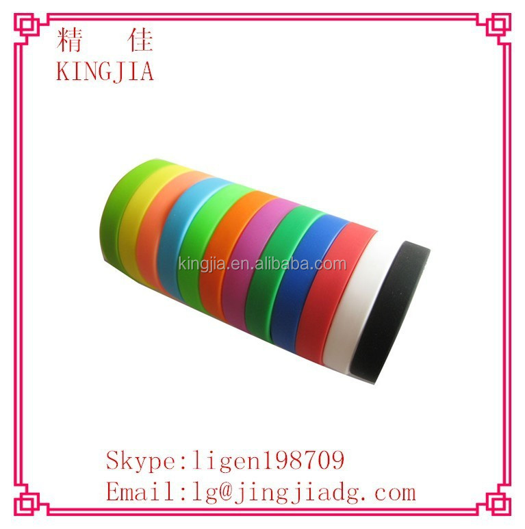 silicone arm band,bulk cheap silicone band,unbreakable elastic silicone rubber band