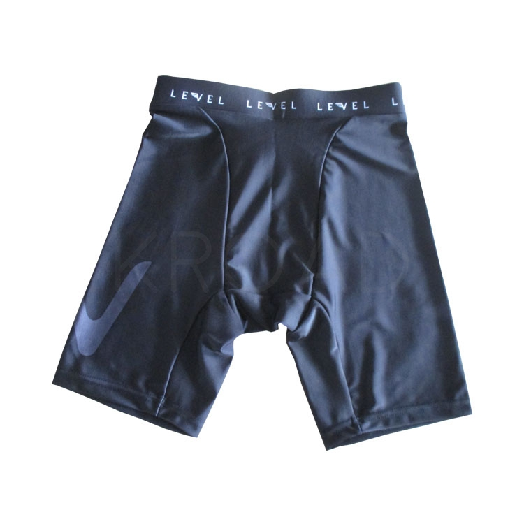 Sport shorts mens and womens lycra running shorts with custom design