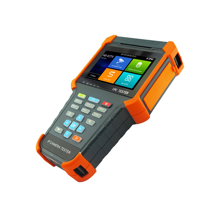 AHD(A)/CVI(D)/TVI(H) IPC Tester cable tester 4 inch IPS touch screen, 800*480 resolution