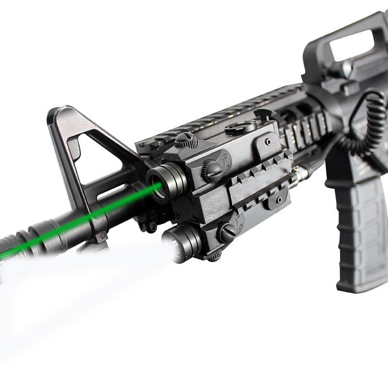Laserspeed green laser sight tactical light combo Military weapon ak 47 mil std 1913 rail фото