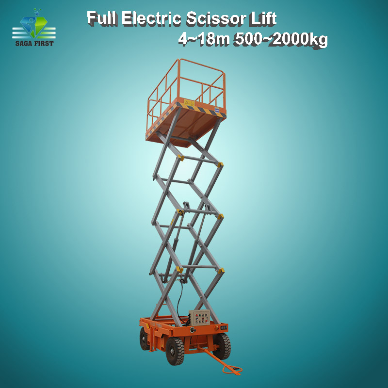 Various Height Capacity Hydraulic Electric Lift Scissor