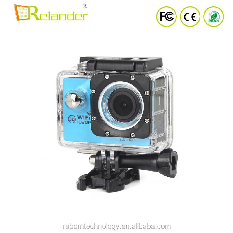 Full 1080P 2.4G WIFI Remote Control Waterproof Action <strong>Camera</strong> Width Angle 21x - 40x Optical Zoom Sports DV <strong>Camera</strong>