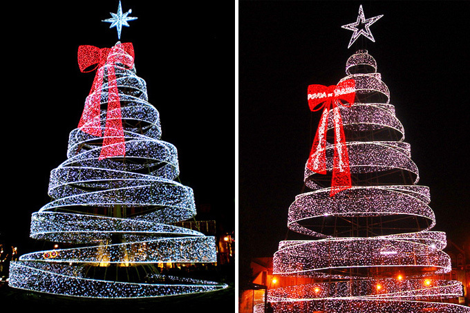 Outdoor Led Christmas Tree New House Designs