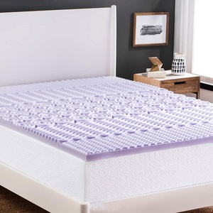 Bed Topper 5 Zone Massage Travel Memory Foam Mattress