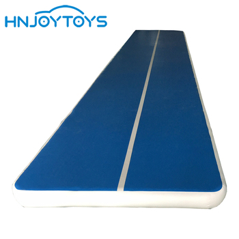 Sport simple style wholesale inflatable air tumble track gymnastics mat for sale
