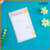 Best selling Lovely candy color stickers N stick sticky notes with cartoon book message/memo pad