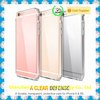 Transparent Hybrid Hard Plastic Crystal TPU Cell Phone Case for iPhone Case