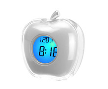 Cheap Promotional small lcd talk alarm clock