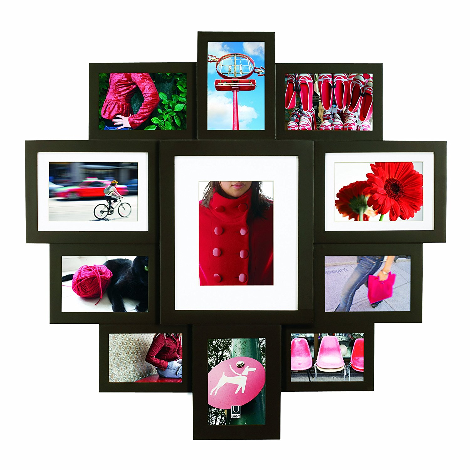 Buy Umbra Mosh Wall Multi Frame Collage Natural in Cheap Price on ...