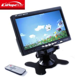 16:9 wide screen 7'' tft lcd slim headrest car monitor