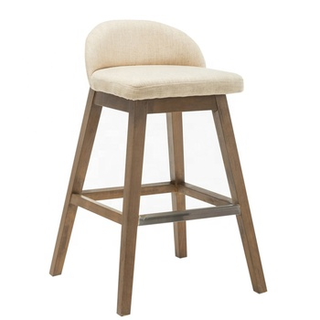Modern High Quality Wooden Chair Velvet Seat Counter Height Kitchen Bar Stool From Anji Buy Unique Modern French Design Table Baroque Wooden Bar
