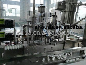 CE approved 50ml povidone-iodine disinfectant filling machine