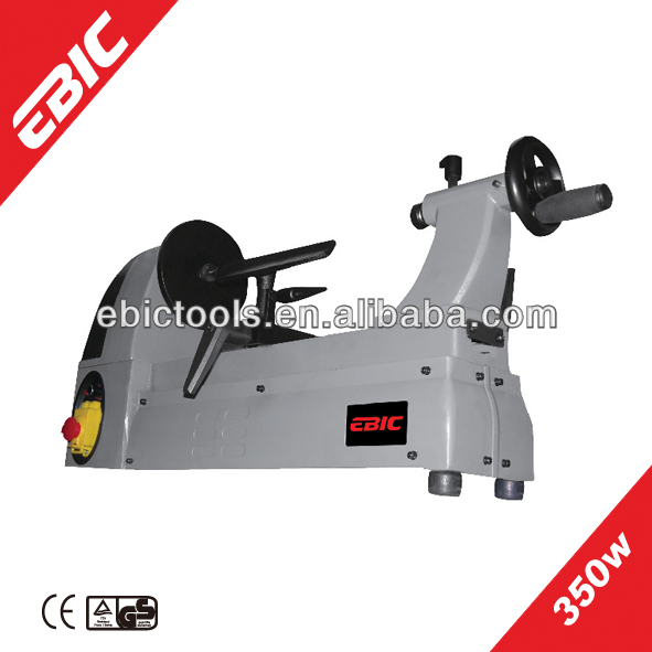 EBIC woodworking machinery 350W cnc mini wood turning lathe with variable speed