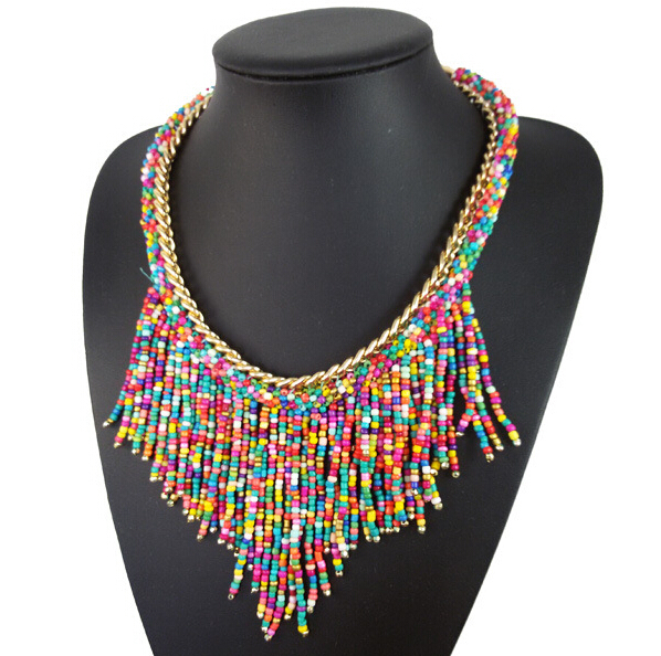 full neck covering necklace design