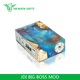 2018 New Vape E cig Battery Mods 250W Stabilized Wood Mod JDI BIG BOSS