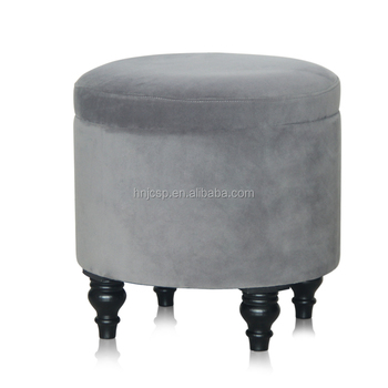 Astonishing Round Foot Rest Velvet Pouf Ottoman Storage Stool Buy Ottoman Pouf Ottoman Velvet Ottoman Product On Alibaba Com Pabps2019 Chair Design Images Pabps2019Com