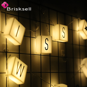 Led Customized Letter light box String Lights for decoration