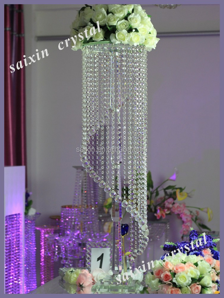 Gorgeous hanging crystal wedding decoration centerpieces view gorgeous hanging crystal wedding decoration centerpieces view hanging wedding centerpieces saixin product details from pujiang saixin crystal factory on junglespirit Images