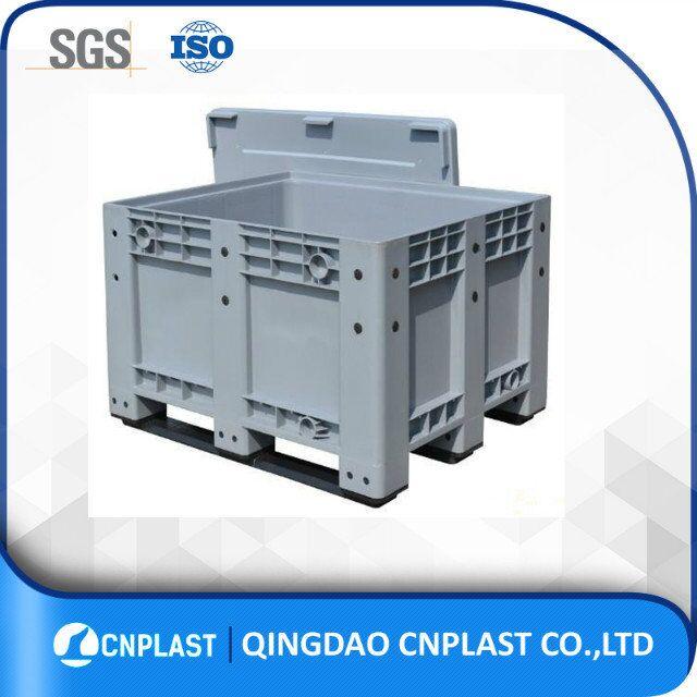 600L customized heavy duty plastic storage transparent rack bin with tap