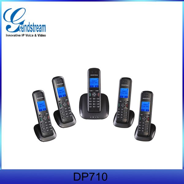 Grandstream VoIP Phone DP715 DETC Cordless SIP wifi Phone
