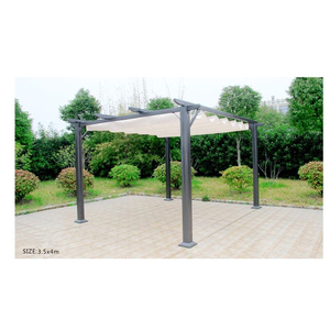 Modern Garden Gazebo Weights With Mosquito Netting