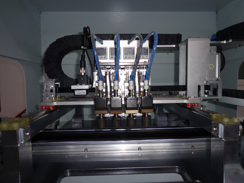 led and place machine