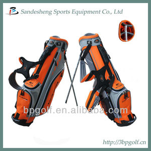 Cute colorful small kids golf bag