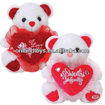valentine gift teddy bear twins