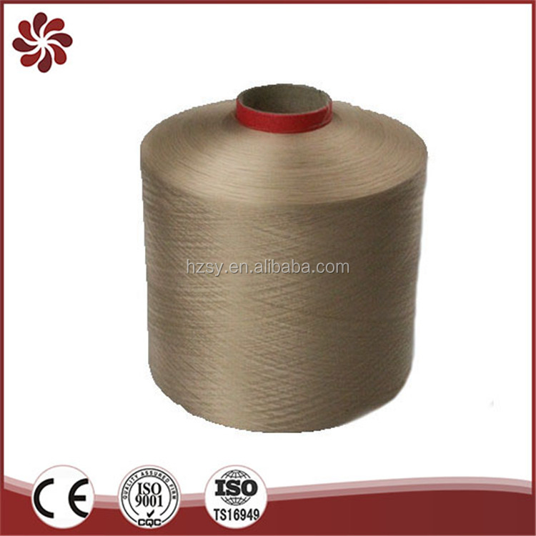 China Recycle Hundreds Of Colors In Stock Crochet Dty Polyester Yarn