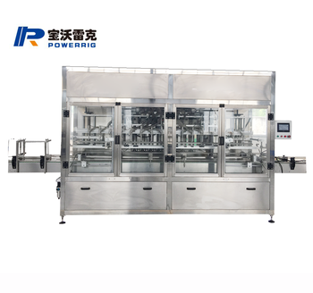 Servo motor drive Powerrig machinery PWG-ZX-20 Fully Automatic Filling Machine for Laundry Detergent
