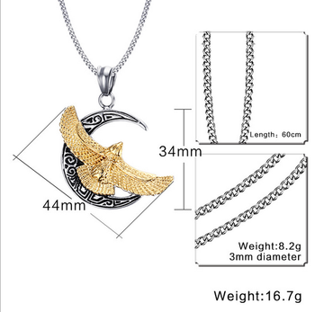 New gold chain design for men eagle pendants 20 grams gold necklace new gold chain design for men eagle pendants 20 grams gold necklace designs aloadofball Images