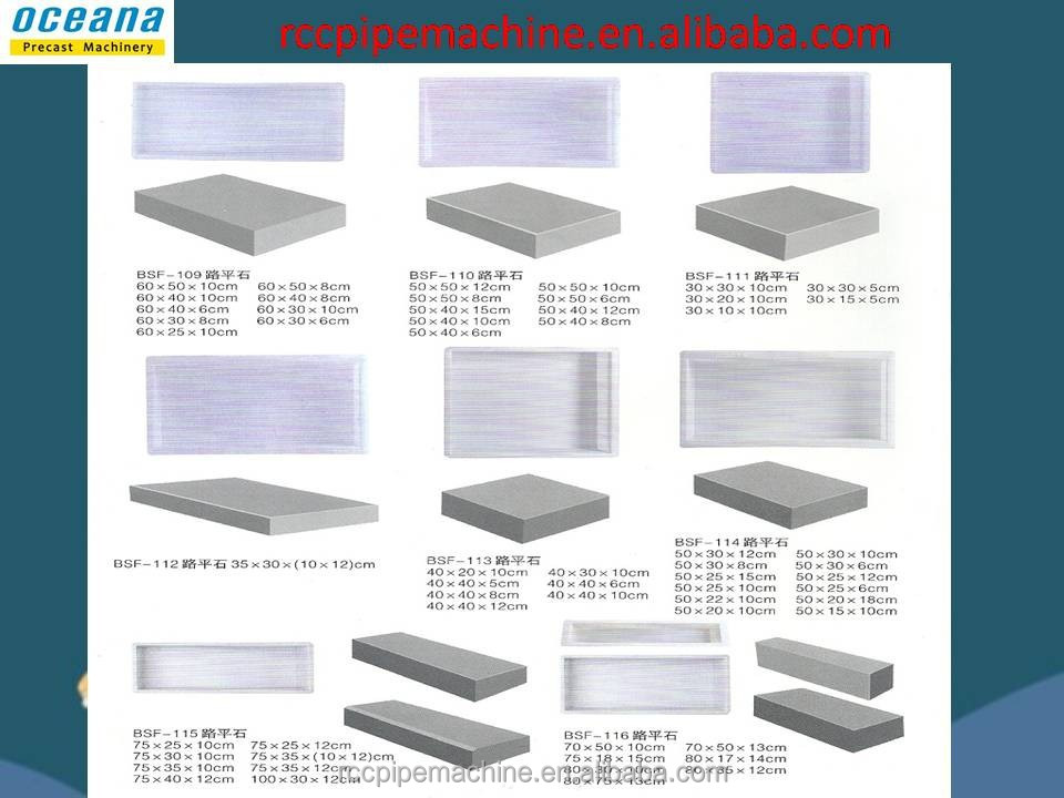 Factory High Quality Plastic Mould for concrete brick, concrete pavers molds