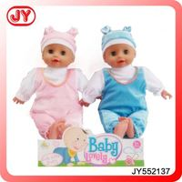 private design China Manufacturer Free sample silicone vinyl interactive baby doll