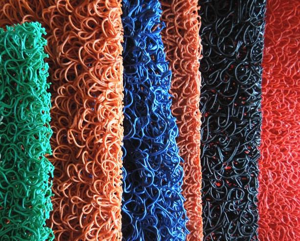 Many Colors Pvc Noodle Mat /pvc Heavy Duty Mat