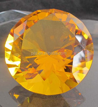 large size crystal diamond decoration 100mm home &office decorative