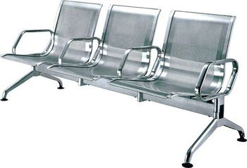 Superieur Stainless Steel Waiting Lounge Chairs YA 59