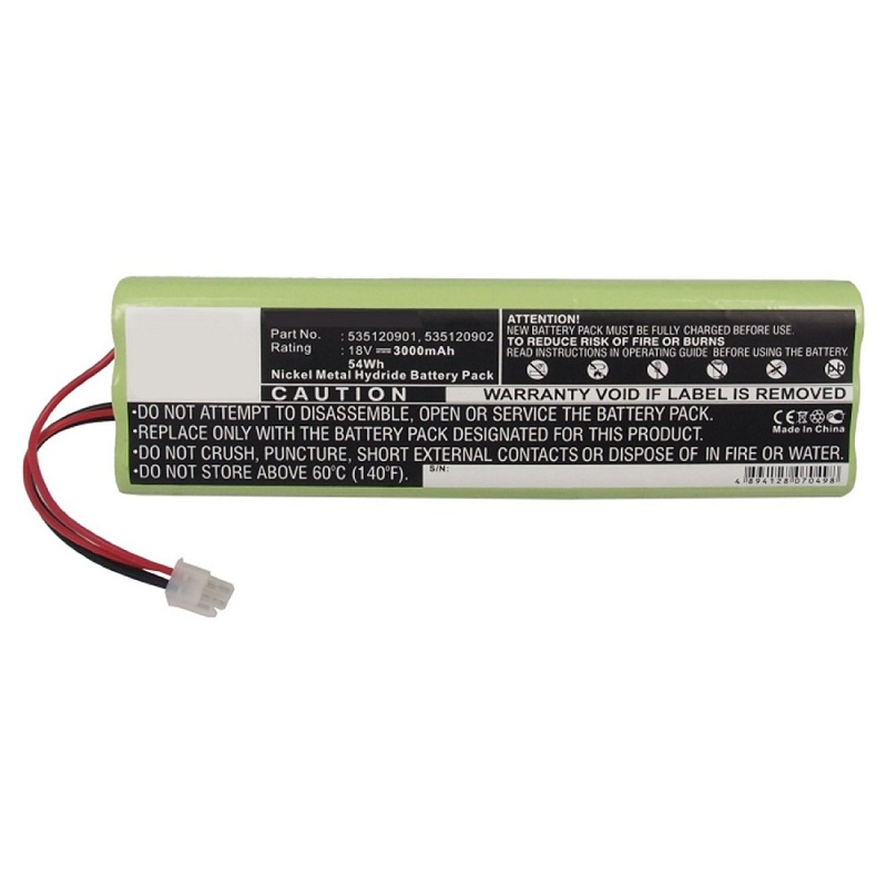Replacement battery for Battery for Husqvarna lawn mower Automower 210C 18V 3000mah