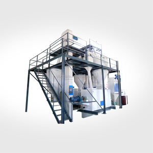 CE ISO SGS approved Plant poultry animal feed milling machine alfalfa pellet mill machine