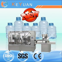 automatic plastic water bottle manufacturing plant/mineral water filling plant cost