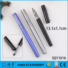 2018 luxury classic blue ink metal fountain pen